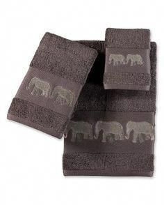 Decorating With Bathroom Towels Elephant Bathroom Decor, Bathroom Towel Decor, Elephant Home Decor, Elephant Decorations, Bathroom Ideas, Elephant Towel, Elephant Room, Elephant Gifts, Elephant Stuff