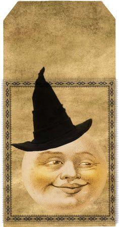 Free Halloween tags to print