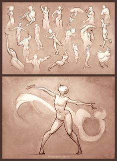 Sketchdump – 30 Second Poses by Blue-Ten on DeviantArt - figure drawing Figure Drawing Reference, Drawing Reference Poses, Gesture Drawing Poses, Drawing Body Poses, Hand Reference, Anatomy Reference, Drawing Sketches, Art Drawings, Drawing Tips