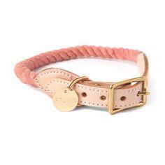 Blush Rope Cat & Dog Collar