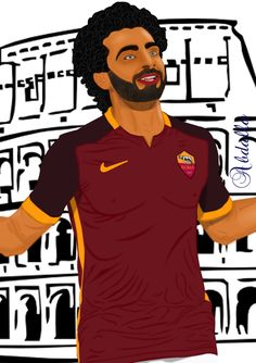 #As_Roma #mohamed_salah #serie_a #ataly #Roma #football #football_players #AS_Roma_fc #AS_Roma_fans #world #art #drawing #draw #my_drawing #art_girl #artist  #رسم #رسومات #رسوماتى #رمزيات #محمد_صلاح #روما #صور #صوره #رمزياتي #جده #جدة #السعودية #الرياض Boy Drawing, Drawings, Boys, Movies, Movie Posters, Art, Sketches, Baby Boys, Films