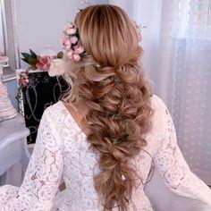 Bohemian Hairstyles, Formal Hairstyles, Bride Hairstyles, Easy Hairstyles, Wedding Hairstyles Long Hair, Hairstyles For Weddings, Country Wedding Hairstyles, Wedding Hairstyles Tutorial, Dreadlock Hairstyles