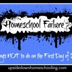 5 Things Not To Do on the First Day of School