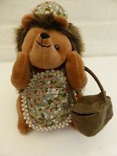 Mrs Hedges - Dora Designs -   Hedgehog Doortstop - Country Folk