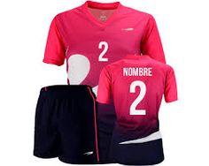 acfedd3a9aa67 Resultado de imagen para imagenes de uniformes de futbol para mujeres