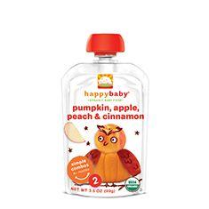 pumpkin, apple, peach
