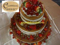 Nossos bolos Naked Cake para o seu casamento. http://www.casadobolodatorta.com http://www.casadobolodatorta.com.br