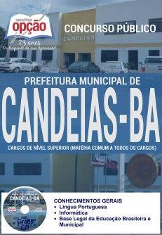 Saiba Mais -  Apostila Concurso Candeias BA - Vários Cargos  #concursos Saiba como adquirir a sua http://apostilasdacris.com.br/apostila-concurso-candeias-ba-varios-cargos/