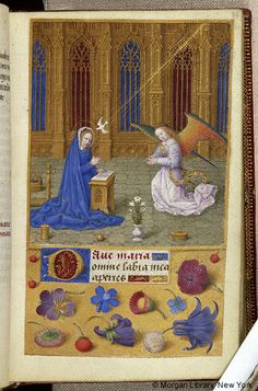 Book of Hours, MS M.6 fol. 21r - Images from Medieval and Renaissance Manuscripts - The Morgan Library & Museum
