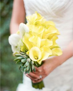Calla Lilies and Succulents - From Pastels to Vibrant Hues: 15 Most Beautiful Calla Lily Wedding Bouquets - EverAfterGuide