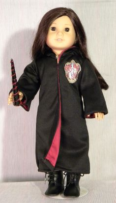 wizard robe and wand