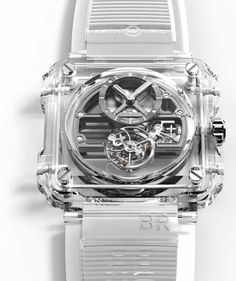 Bell & Ross Impresses with the $385K BR-X1 Skeleton Tourbillon Sapphire | American Luxury