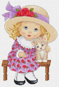 Cross Stitch Family, Simple Cross Stitch, Cross Stitch Baby, Cross Stitch Flowers, Cross Stitch Alphabet Patterns, Disney Cross Stitch Patterns, Cross Stitch Designs, Cross Stitch Boards, Cross Stitch Needles
