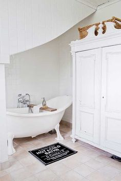 Badkamer on pinterest tubs bathroom and vans - Badkamer retro chic ...