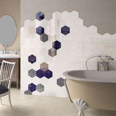 Porto White | Hexagon Tiles | Porcelain Superstore