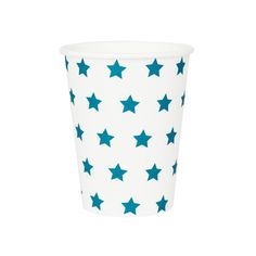 Blue Star Paper Cups