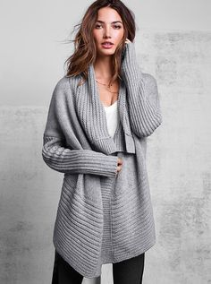One-button Cardigan Sweater - this sweater will take you anywhere