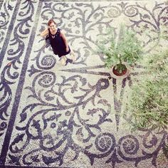 Instagram media celindaversluis - I really love this very old black and white pebbles mosaic #chios #kambos #greece #pavement #pattern #mosaic #pebbles Greece People, White Pebbles, Chios, Pebble Mosaic, Photographs Of People, Pavement, Black And White, Mosaic Floors, Pattern