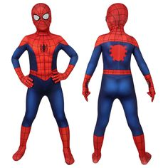 Spider-Man Costume Ultimate Spider-Man Cosplay Peter Parker Jumpsuit For Kids Thor Costume, Spiderman Costume, Unicorn Costume, Jumpsuit For Kids, Kids Dress Up, Miles Morales, Ultimate Spiderman Season 1, Movie Costumes, Cosplay Costumes