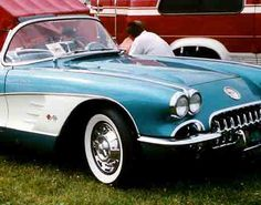 Corvette - The American Dream Car; this one is a 1959