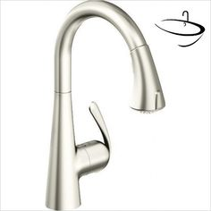 Buy the Grohe Stainless Steel Direct. Shop for the Grohe Stainless Steel Pull-Down Spray Kitchen Faucet with Forward Rotation Lever, SilkMove Cartridge - Hold & Release Spray Control and save. Grohe Kitchen Taps, Kitchen Mixer Taps, Sink Faucets, Sinks, Stainless Steel, Granite, House Ideas, Lighting, City