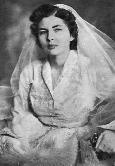 THE BRIDE  H.M. Queen Soraya of Iran, née Esfandiary-Bakhtiari, later Princess of Iran (1932-2001)