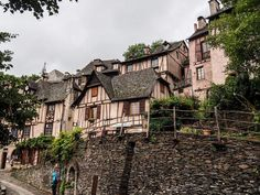 Conques 1. Aveyron. France by jennystokes on DeviantArt