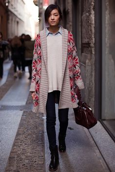 Paris knitwear