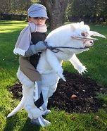 Luke Skywalker riding a Tauntaun Illusion  Costume