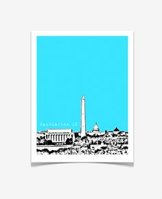 Washington DC Posters www.birdave.com $20