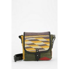 Will Leather Goods Mini Dhurrie Messenger Bag