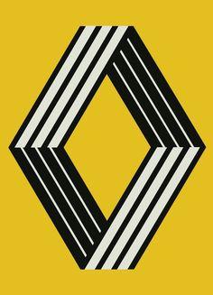 Vasarely - Renault - 1972