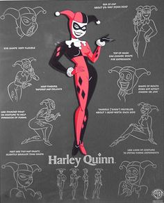 the many moods of Harley Quinn