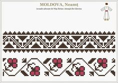 Motiv Blackwork Patterns, Peyote Patterns, Beading Patterns, Cross Stitch Patterns, Embroidery Sampler, Folk Embroidery, Cross Stitch Embroidery, Embroidery Patterns, Palestinian Embroidery