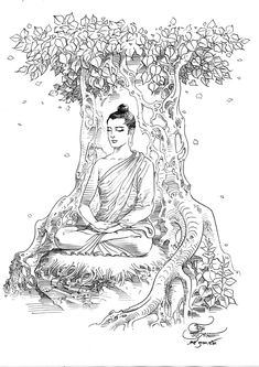 History of Buddha Om Ratchawet Amitabha Buddha, Gautama Buddha, Buddha Buddhism, Buddha Tattoo Design, Buddha Tattoos, Buddha Drawing, Buddha Painting, Buddha Life, Buddha Art