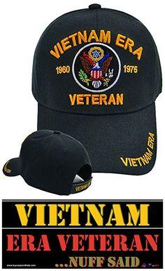 41b2f2b124f Buy Caps and Hats Vietnam ERA Veteran Emboridered Military Baseball Cap  Mens (ERA 1960-1975)