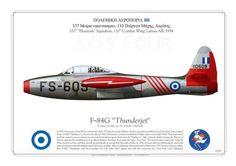HAF F-84G 337SQ 1954