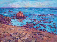 "Saatchi Art Artist Erin Hanson; Painting, ""Monterey Sands"" #art"