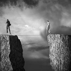 live life on the edge.
