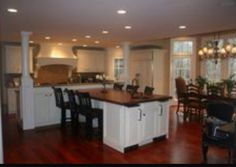 Tshape Kitchen Island Design Pictures Remodel Decor and Ideas