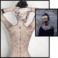 Lower Back Tattoos 93702 Blum Small Back Tattoos, Girl Back Tattoos, Dot Tattoos, Lower Back Tattoos, Body Art Tattoos, Sleeve Tattoos, Animal Tattoos, Tatoos, Unique Tattoos