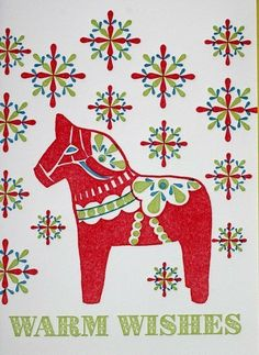 the history of the dala horse (and a link to a dala craft-along for dorks like me;)