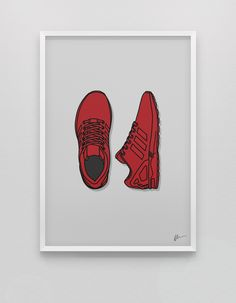 Image of ★ NEW ★ <br> Red ZX Flux