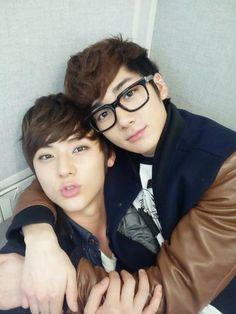 Minhyun and Aron