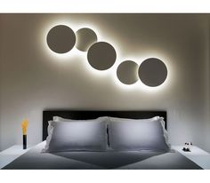 PUCK WALL ART Clusters by Vibia