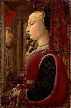 """Cuatrocento. Filippo Lippi - """"Retrato"""", 1440–44."""