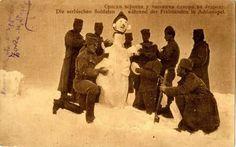 Serbian Soldiers during the rest, Jedren, WW1 Српски воjници у часовима одмора у Једрену