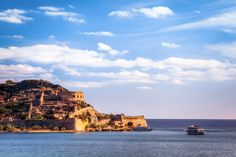 Boat Rides to the Leper Island of Spinalonga, Plaka, Crete, Gree by Joe Daniel Price on Monument Valley, Istanbul, Grand Canyon, Surfing, Places To Visit, Boat, Island, Water, Travel