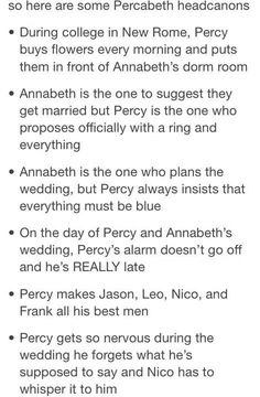 Late for his own wedding ehehehe so true i cant stop laughing and Grover will be a best man too<< don't forget Tyson Percy Jackson Head Canon, Percy Jackson Ships, Percy Jackson Quotes, Percy Jackson Fan Art, Percy Jackson Books, Percy Jackson Fandom, Rick Riordan Series, Rick Riordan Books, Magnus Chase
