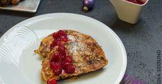 """Stollen French Toast mit Cranberry-Sauce aus Neuseeland bei """"Übern Tellerrand"""""""